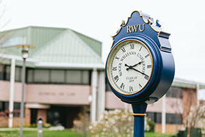 Image of campus clock