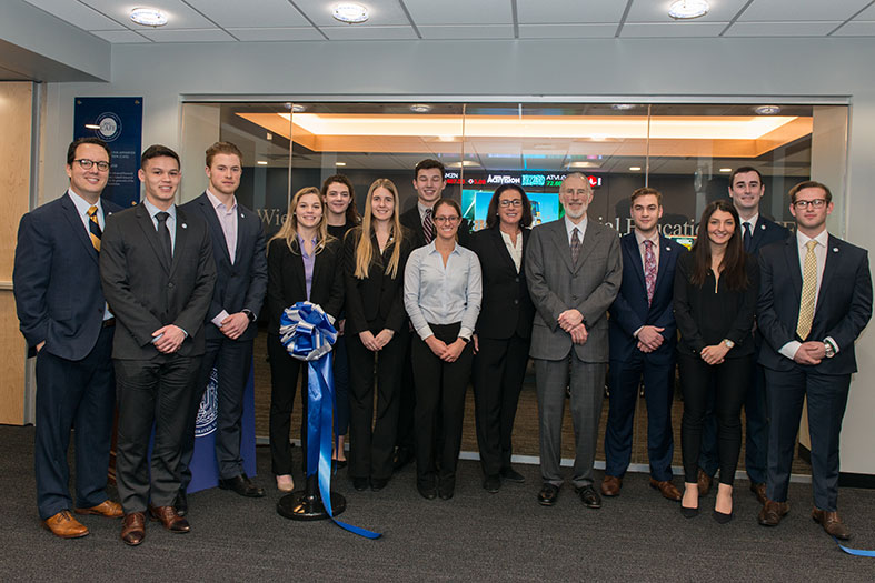 RWU opens the new Center for Advanced Financial Education.