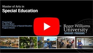 Special Education Info Session on Youtube