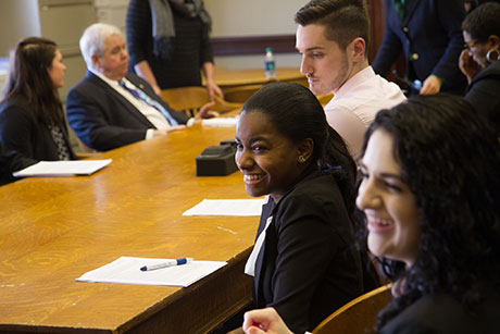 Students advocate for policy change at R.I. State House.