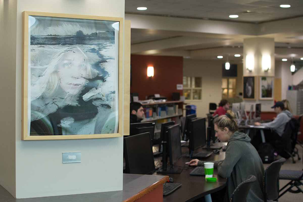 Art in the campus library