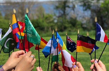 image of Flags of Countries Represented at RWU