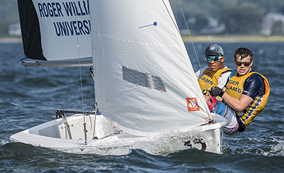 West Coast Guide reading students may be interested to know RWU Sailing ranked first in the nation in 2018 in the co-ed division. Rob Migliaccio Photography