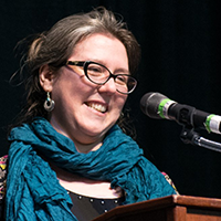 image of RWU Core 102 Professor Laura D'Amore
