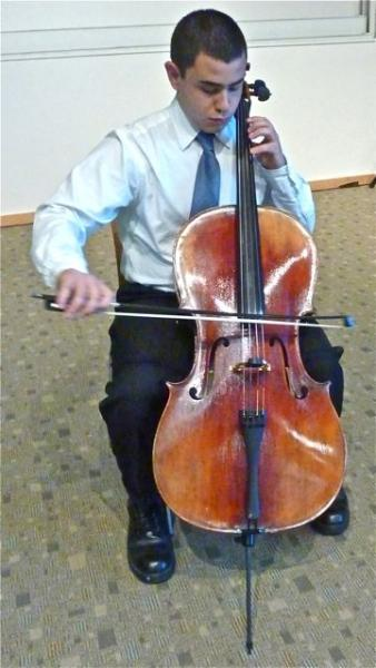 cello student RWU