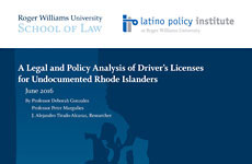 A Legal and Policy Analysis of Driver's Licenses for Undocumented Rhode Islanders