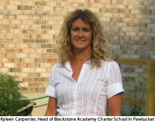 Kyleen Carpenter, Head of Blackstone Academy Charter School in Pawtucket