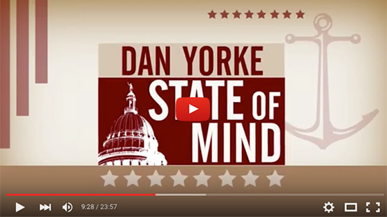 President Farish on Dan Yorke State of Mind - September 2015