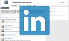 LinkedIn - Construction Management