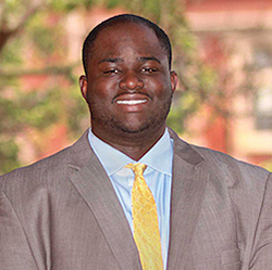 image of RWU alum Elsch Maisoh, Gilbane Building Co. Project Manager