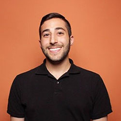 image of RWU alum Anthony Mosesso, now security operations analyst at Hubspot