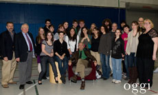 Playwright Edward Albee visits RWU in 2011