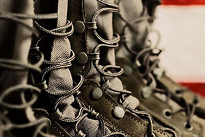 Image of military boots