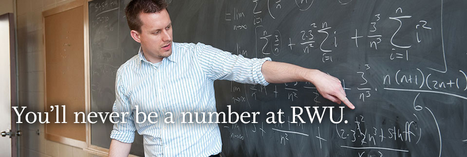 You'll Never be a Number at RWU
