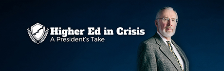 Higher Ed in Crisis graphic