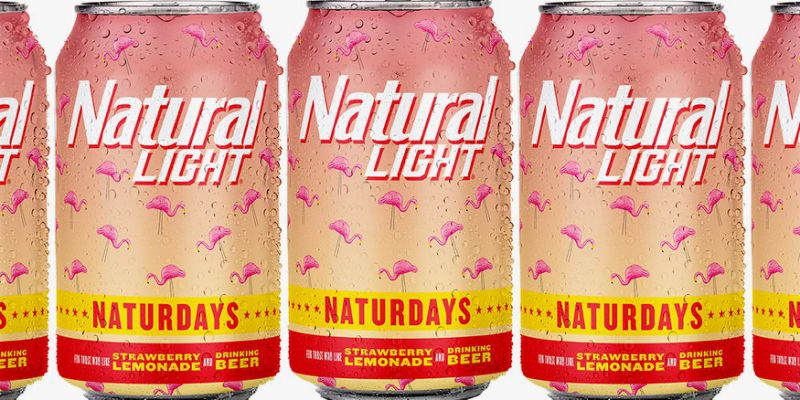 Naturdays beer cans.