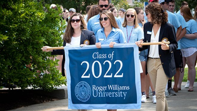 Rwu Academic Calendar 2022.Highlights From The Arrival Of The Class Of 2022 Roger Williams University