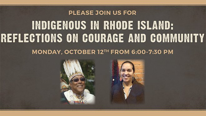 Please join us for Indigenous in RI