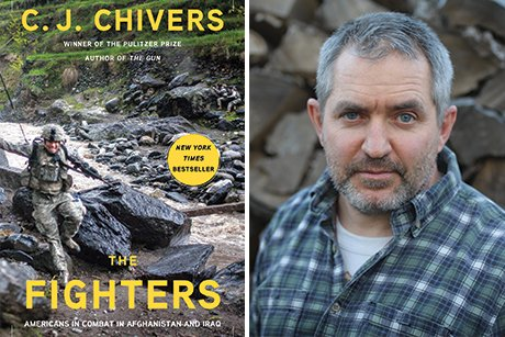 C. J. Chivers and his book cover