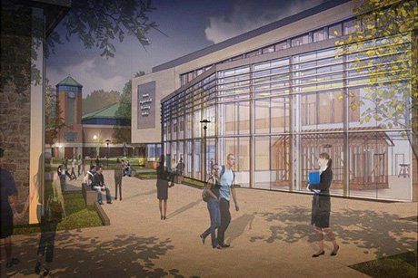 Architectural rendering of School of Engineering, Computing and Construction Management