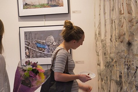 Senior Exhibition at Bristol Art Museum