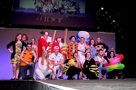 Mr. RWU contestants show off their costumes
