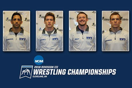 RWU wrestlers heading to NCAA championship