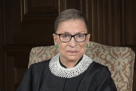 Supreme Court Justice Ginsburg