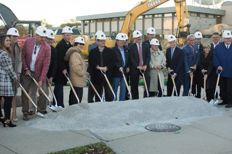 Groundbreaking ceremony for SECCM Labs.