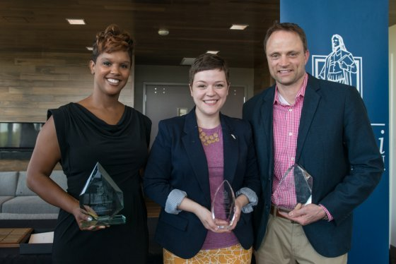 image of RWU alumni award winners