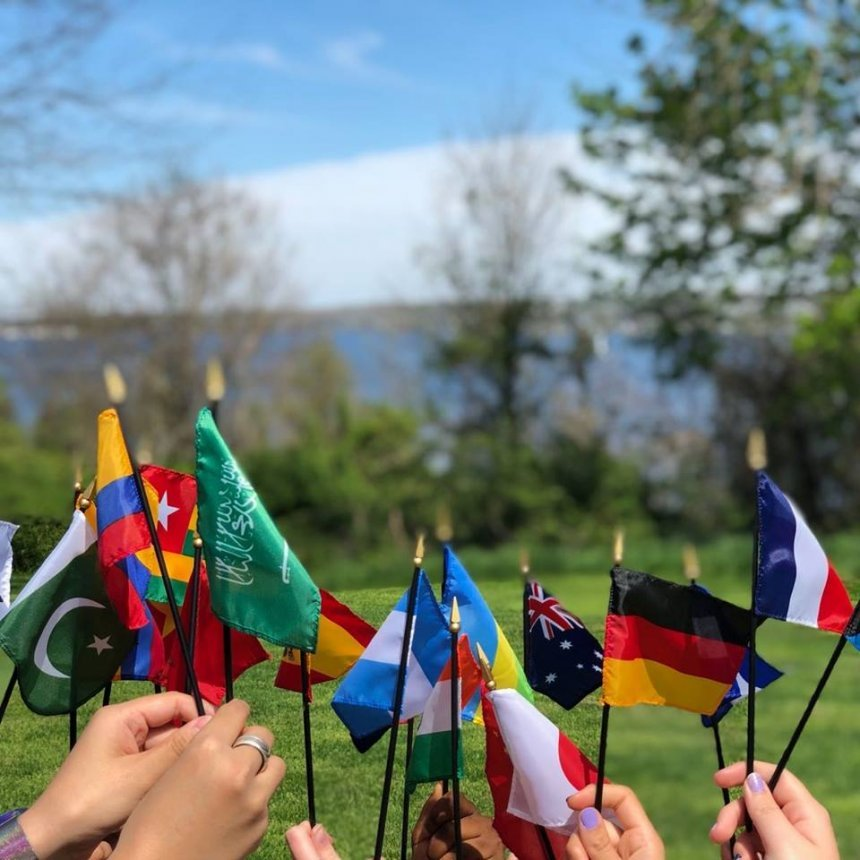 Flags of Countries Represented at RWU