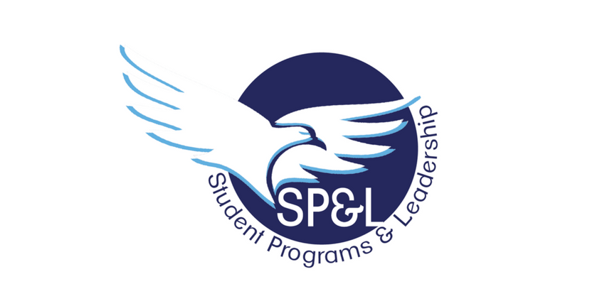student programs and leadership logo with hawk