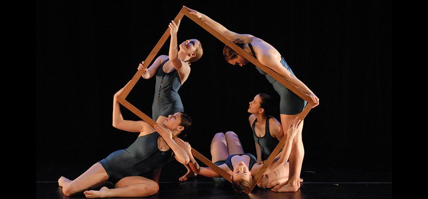 Roger Williams University Dancers at a Performance