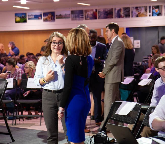 Putting on the Debate: Behind the Scenes of a Live Broadcast